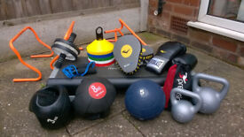 Large Collection Of Portable Fitness Equipment £120 OVNO
