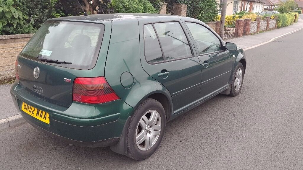 VW Golf mk4 1.9 TDI 130hp 6th gear