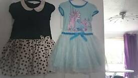 Girls dresses 3-4yrs