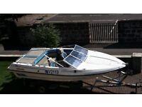 Speedboat. Fletcher arrowhawk.3.7 mercruiser. Totally original condition