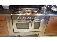 Baumatic dual fuel range cooker