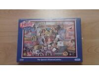 Queens Diamond Jubilee 1000 piece jigsaw puzzle brand new