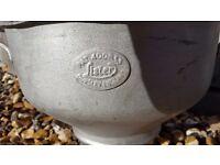 Vintage Lister Milk Churn Funnels