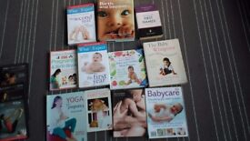 Various pregnancy and baby books (11 all together)