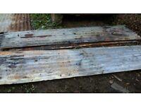 corrugated iron sheets