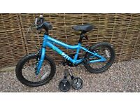 "Boys' bike 16"" wheel Ridgeback MX16 2016 blue with stabilizers Coventry"