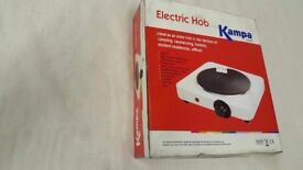 Brand New Kampa Electric Cooking Hob for Caravans, Motorhomes, Camping or Home use