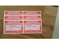 Poole Greyhounds entry and racecard tickets