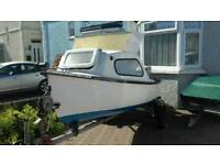 Fishing boat and trailer 12ft