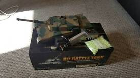 RC Battle Tank Shoots BB