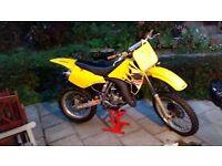 Suzuki RM 125 motocross/enduro