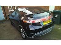 DIESEL EX I CTDI CHEAPEST TOP SPEC HONDA CIVIC SAT NAV MODEL NEW CLUCH FLYWHEEL QUICK SALE BARGAIN