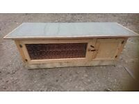 Handmade rabbit , guinea pig , ferret hutch