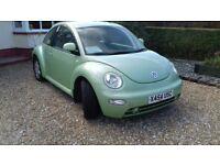 VW Beetle for sale - mot'd 13/16/18 - good bodywork - good runner - recent new tyres