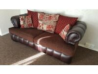 3 seater sofa Chesterfield Scatterback