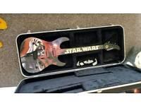 Fernandes Star Wars Darth Vader guitar