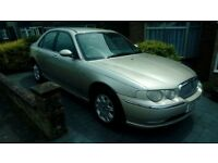 Rover 75 Club cdt AUTO 45000 miles only 9 service stamps,