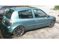 "1.4 16v 2003 ""RenaultSport"" Clio 172 - MOT'd Full Rep - Induction - 182 Cup Alloys! *Only £550*"