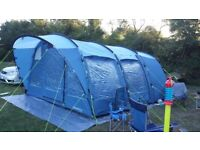 Outwell tent, camping trailer and camping accessories