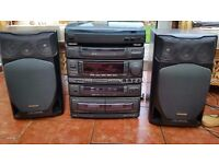 Aiwa Stereo System with Remote