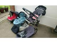Quinny Buzz pram pushchair travel system