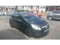 Vauxhall, CORSA, Hatchback, 2008, Manual, 1248 (cc), 3 doors diesel mot june 2022 £30 tax