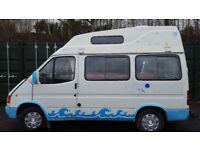 Ford Transit Camper van/Motorhome,12 months mot with power steering,Low Mileage For Sale