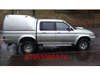 mitsubishi l200 warrior lwb 2.5 turbo diesel 2004 54 plate