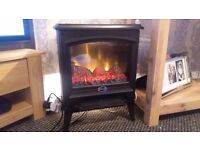 Dimplex free standing fire