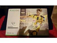 Xbox One S 500GB with Fifa 17 Brand new and sealed.