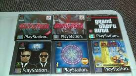 PS1 Games Various Priced