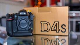 Nikon D4s body only. Immaculate condition. 49k actuations