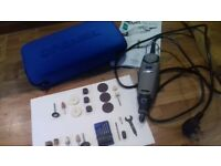 Dremel accessories, with drill for parts only