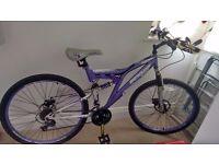 Dunlop Double Suspension Bike