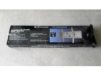 """TV Wall Mount Universal 42"""" x 65"""" LCD/PLASMA MOUNT with TILT by PHILEX TV MOUNTS, NEW BOXED"""