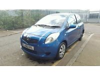 Toyota yaris T3 2006 year, low mileage of 78000, petrol Quick SALE