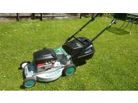 Masport 21' cut self propelled professional mower with alloy deck expensive new