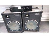 DENON PMA-250SE AMP + 2 ROOST POWER-SPEAKERS