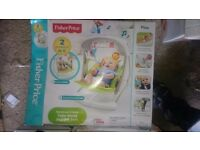 BRAND NEW Fisher-Price swing and seats