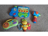 For sale used baby toys