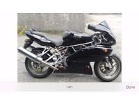 ducati 750 desmo super sport 2002 black