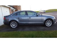 Audi Saloon A4 2.0 TDI 150 SE Technik 4 door Multitronic. Excellent showroom condition & low mileage