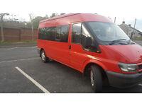 Ford Transit Minibus 15 seater