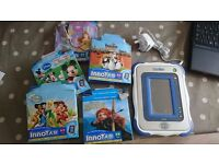 vtech innopad plus 5 games - kids tablet style computer