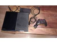 Xbox one 500gb and 8 games