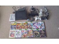 Large XBOX 360 and Kinect bundle with controllers and games