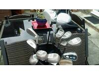 LADIES LEFT HANDED SET OF GOLF CLUB'S AND BAG..NOW REDUCED TO £44