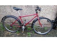 Specialized Hardrock bicycle - small frame size - new chain, sprocket and tyres
