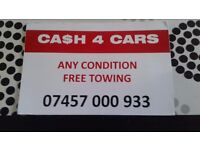 Cash for cars from 500 to 5000