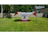 MSR Elixir 2 tent c/w extension porch & x2 mudmats